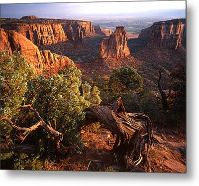 Sunrise On Indepedence Metal Print by Ray Mathis