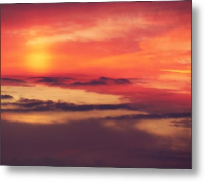 Sunrise On Mars Metal Print by Condor