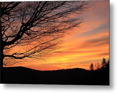 Sunrise On The Blue Ridge Parkway Metal Print by Mountains to the Sea Photo