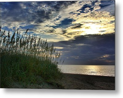 Sunrise On The Dunes Metal Print