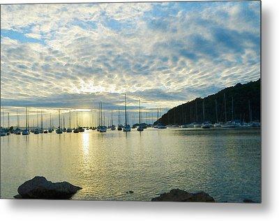 Sunrise On The Sea Metal Print by Anton Joseph
