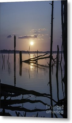 Sunrise Over Manasquan Reservoir Metal Print