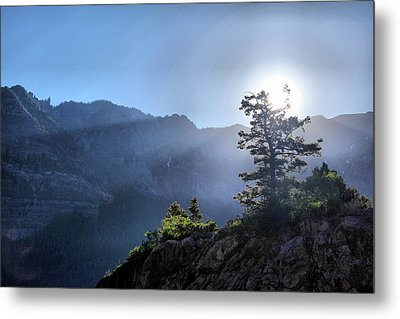 Sunrise Over Ouray Metal Print by Brian Davis