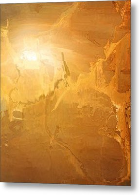 Sunrise Over The Dunes Metal Print by Kume Bryant