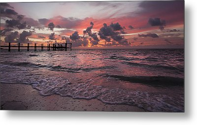 Sunrise Panoramic Metal Print