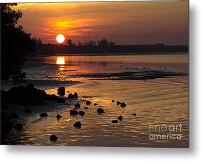 Metal Print featuring the photograph Sunrise Photograph by Meg Rousher