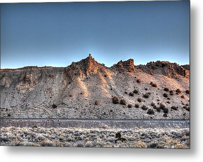 Metal Print featuring the photograph Sunrise Railroad by Dave Garner