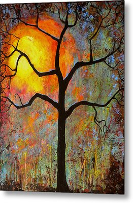 Sunrise Sunset Metal Print by Blenda Studio