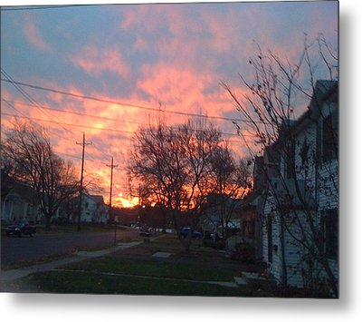 Sunrise Sunset Metal Print