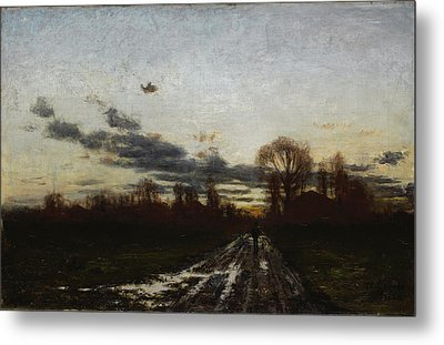 Sunrise Metal Print by Theodore Clement Steele