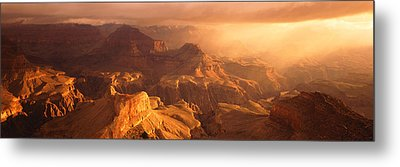 Sunrise View From Hopi Point Grand Metal Print by Panoramic Images