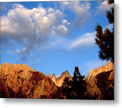 Sunrise Whitney Portal Metal Print by Amelia Racca