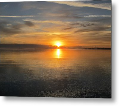 Metal Print featuring the photograph Sunrise With God by Joetta Beauford