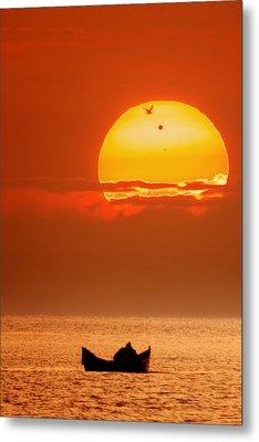 Sunrise With Venus On It Metal Print