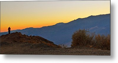 Metal Print featuring the photograph Sunset - Death Valley by Dana Sohr