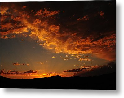 Metal Print featuring the photograph Sunset 0983 by Janis Knight