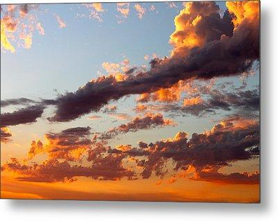 Sunset 5 Metal Print by Ashley Balkan