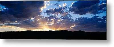 Sunset Along Route 95, Idaho Metal Print by Panoramic Images