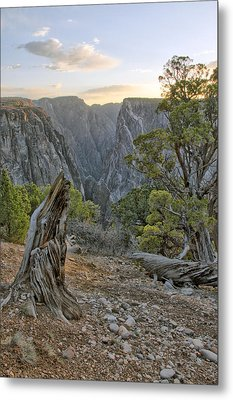 Sunset At Black Canyon Metal Print