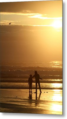 Sunset At Cannon Metal Print