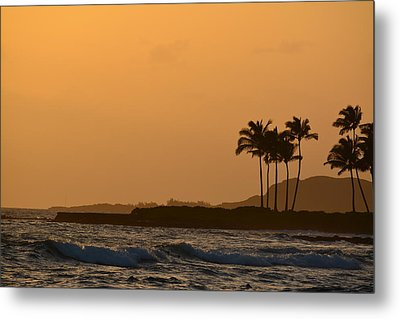 Sunset At Koloa Metal Print