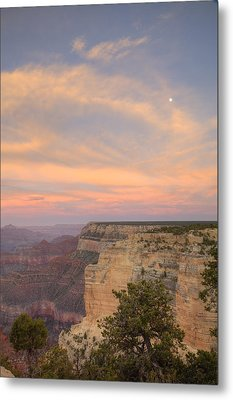 Metal Print featuring the photograph Sunset At Powell Point by Alan Vance Ley