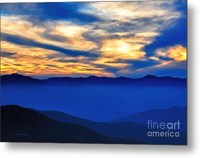 Sunset At The Max Metal Print