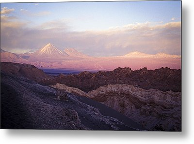 Metal Print featuring the photograph Sunset At The Valley Of The Moon by Lana Enderle