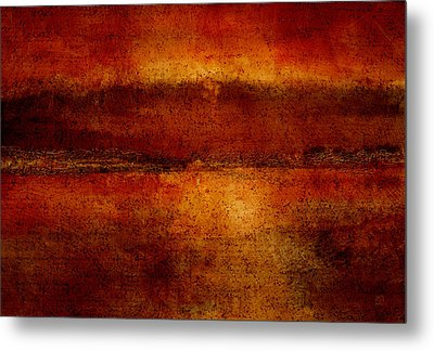 Sunset Bay Metal Print
