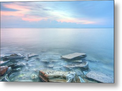 Sunset Bay Park Metal Print
