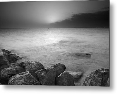 Sunset Before The Storm Metal Print by Guido Montanes Castillo