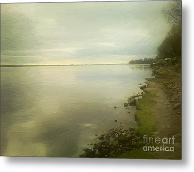 Sunset Before The Storm Metal Print by RC DeWinter