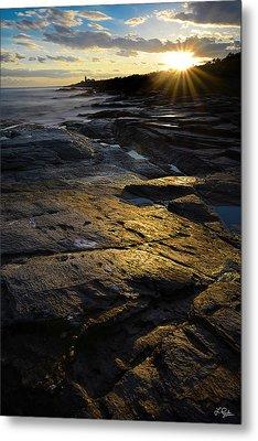 Sunset Beyond Metal Print