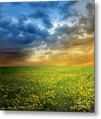 Metal Print featuring the photograph Sunset by Boon Mee
