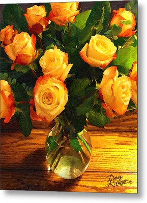 Sunset Bouquet Metal Print by Doug Kreuger