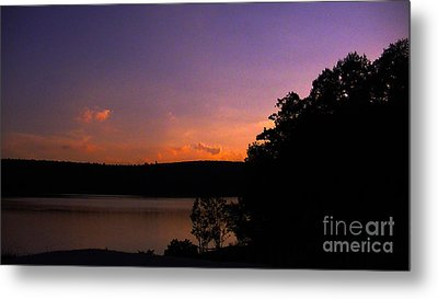 Sunset Metal Print by Brittany Perez