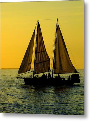 Sunset Celebration Metal Print by Karen Wiles