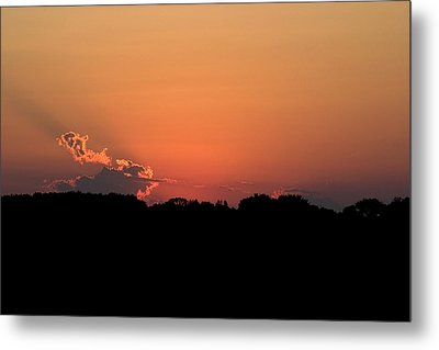 Sunset Clouds Metal Print by Mark Russell