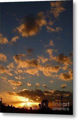 Sunset Clouds Metal Print
