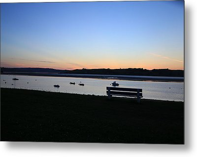 Sunset Courtmacsherry Co Cork Metal Print by Maeve O Connell