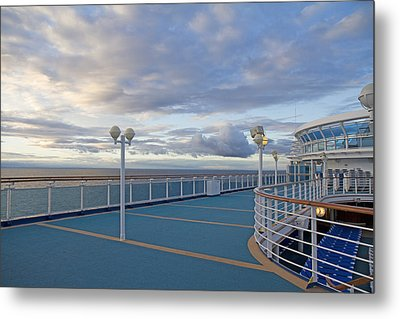 Sunset Cruise Metal Print by Betsy Knapp