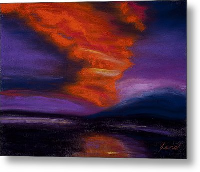 Sunset Metal Print by Dana Strotheide