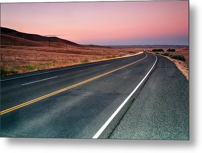 Sunset Drive Metal Print by Chris Frost