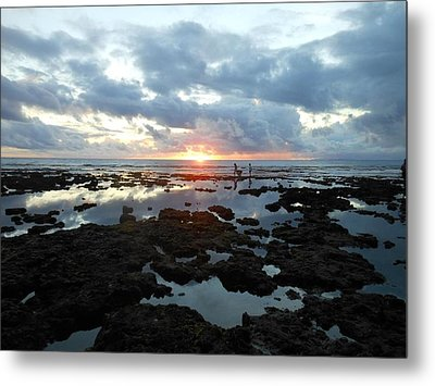 Sunset Metal Print by Duane Blubaugh