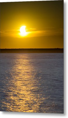 Sunset Eclipse Metal Print by Chris Bordeleau
