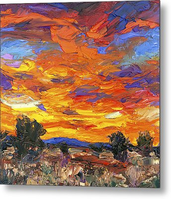 Sunset Fantasy Metal Print by Steven Boone