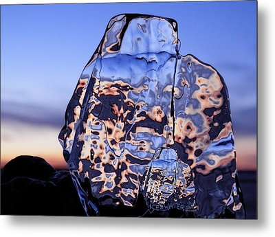 Metal Print featuring the photograph Sunset Fish by Sami Tiainen