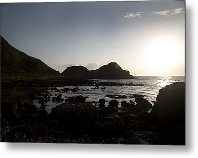 Sunset -- Giant's Causeway -- Ireland Metal Print