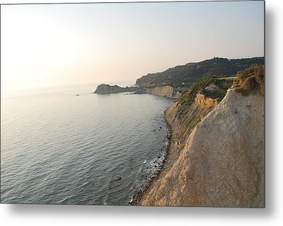 Metal Print featuring the photograph Sunset Gourna by George Katechis