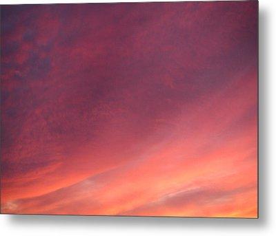 Sunset Hues Metal Print by Laurie Stewart